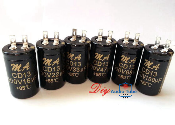 Audio Electrolytic Capacitors