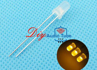 China 2 Pin Base Type Yellow LED Diode Sanan LED Chip For Electrical Appliances factory