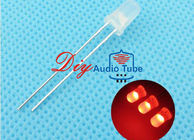 China 5MM Diffused DIY LED Diode Red Lighting Round Top Super Bright Light Bulb factory