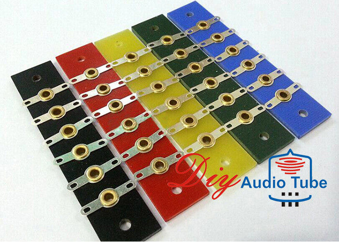 6 Pins Tube AMP Board Tag Strip Terminal Board For Vintage HIFI Guitar Amp