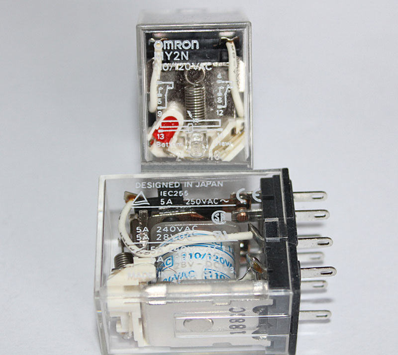 Omron relay MY2N-110/120VAC - 5A ( 8 Pin)