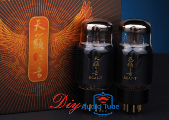China Improved Structure Shuguang Electron Tubes , Power Amplifier 6CA7 Vacuum Tube 6CA7-T factory