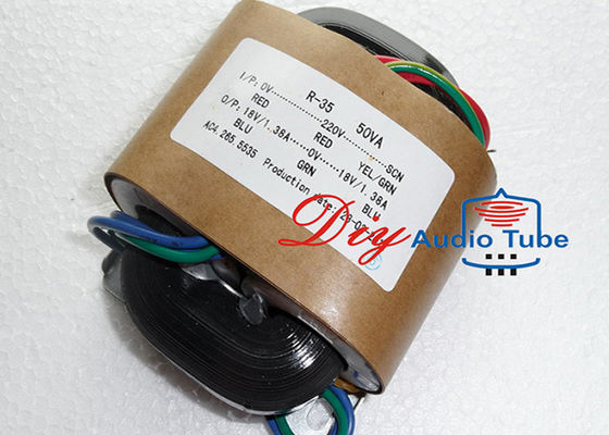China 50W Tube AMP Transformer Double 24V Double 12V Out Voltage For Electronic Usage factory