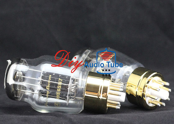China Stereo Guitar Shuguang Vacuum Tubes AC / DC Vf 6.3 Volts Filament WE6SN7 factory