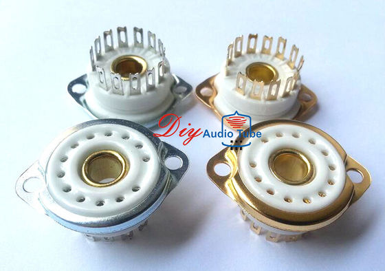 13pin Ceramic Chassis Mount tube sockets for Nixie GN4,B5092,B13B,ZM1020
