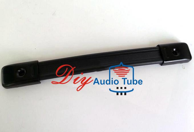Black Color Leather Guitar Amp Handle High Strength Rubber 240mm Length