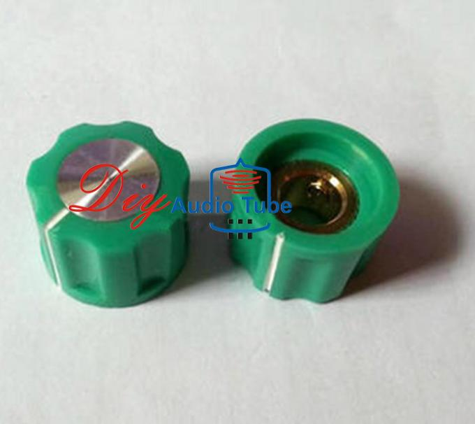 Green Guitar Pedal Knobs Skirt Band Switch Effect Pedal Stomp Box Knobs