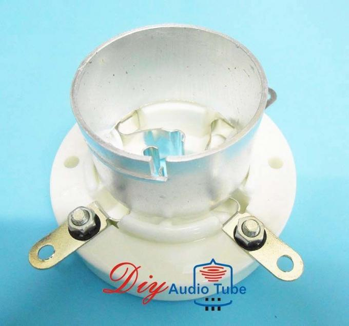 4 Pin Vacuum Tube Sockets Silver Plated ROHS Approved For 845 211 Tube AMP