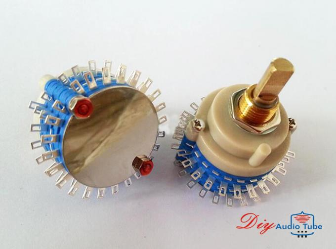 2Pole 24Step 23step Rotary Switch DIY Attenuator Volume Potentiometer